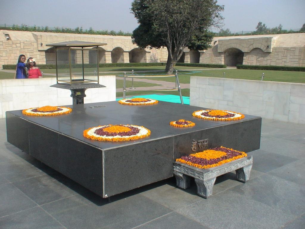Mahatma Ghandhi Samadhi - Memorial